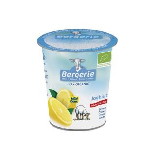 Schafjoghurt Zitrone fettarm