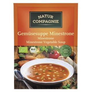 Gemüsesuppe Minestrone