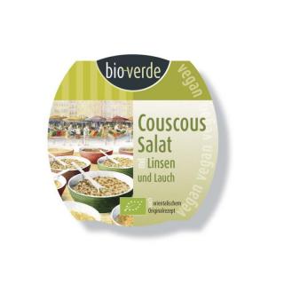 Couscous-Salat mit Linsen & Lauch
