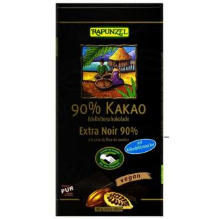 Bitterschokolade 90% Kakao mit Kokosblütenzucker H