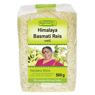 Basmati Reis weiß, Vandana Shiva