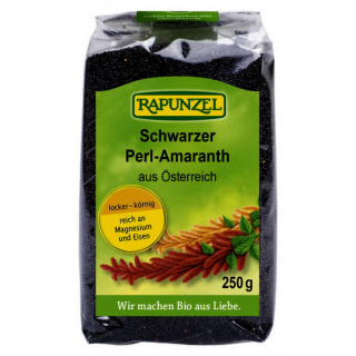 Amaranth schwarz, Perl