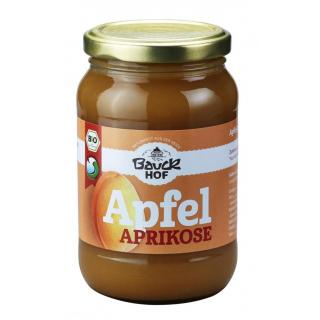 Apfel-Aprikosenmus gesüßt