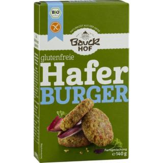 Bauckhof Bio Hafer Burger, glutenfrei