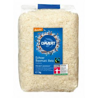 Basmati Reis weiß DEMETER FAIRTRADE