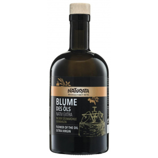 Olivenöl  Blume des Öls nativ extra