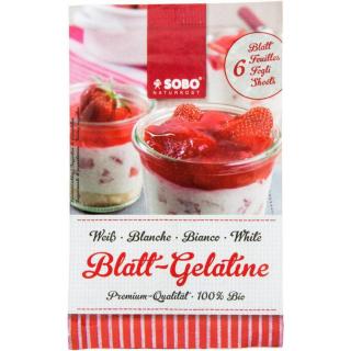 Blatt-Gelatine