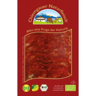 Chorizo Salami geschnitten