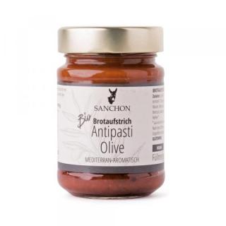 Brotaufstrich Antipasti Olive vegan
