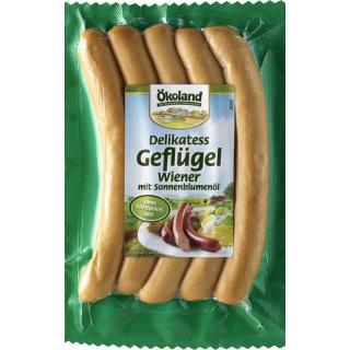 Delikatess-Geflügelwiener BIOLAND