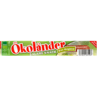 Ökoländer Salami-Snack - Minisalami BIOLAND