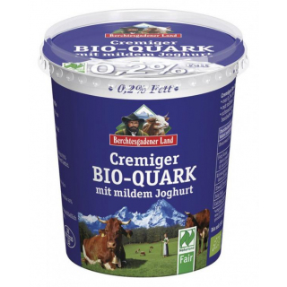 Quark mit Joghurt cremig