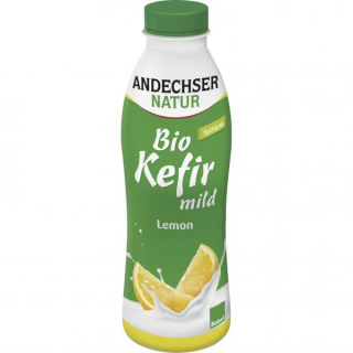 Kefir Lemon BIOLAND - PET-Flasche