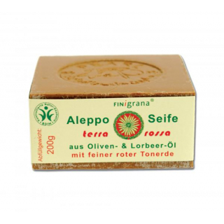 Alepposeife 30% terra rossa