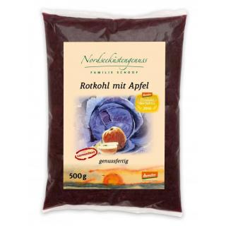 Apfelrotkohl genussfertig im Beutel