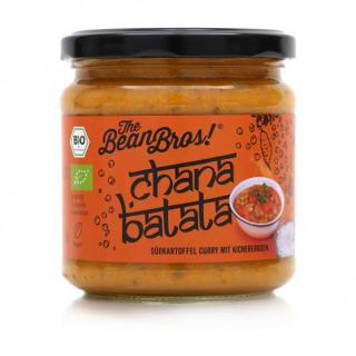 Chana Batata - Süßkartoffelcurry mit Kichererbsen