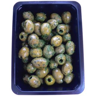 Oliven grün entsteint