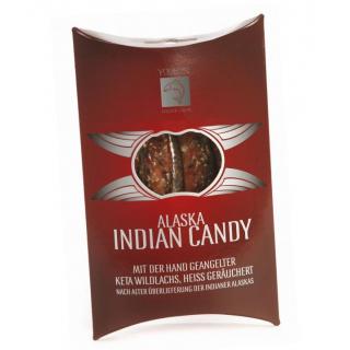 Wildlachsstreifen Indian Candy MSC heißgeräuchert