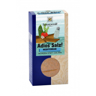 Adios Salz! Mediterrane Gemüsemischung